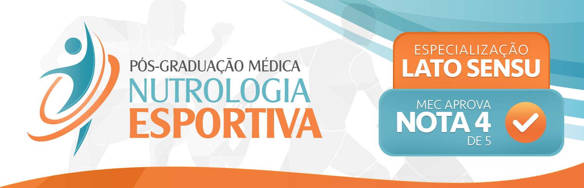 ABRAN - Banner Pós Graduação Nutrologia Esportiva