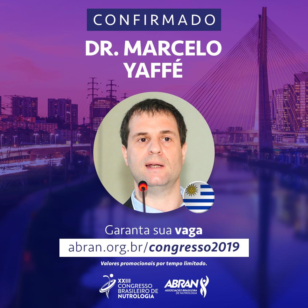 Ex-presidente da Sociedade Uruguaia de Nutrição participa do XXIII Congresso Brasileiro de Nutrologia