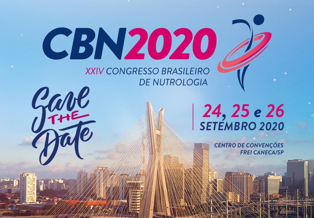 Congresso Brasileiro de Nutrologia 2020