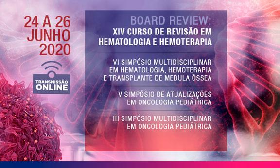 XIV Curso de Revisão em Hematologia e Hemoterapia