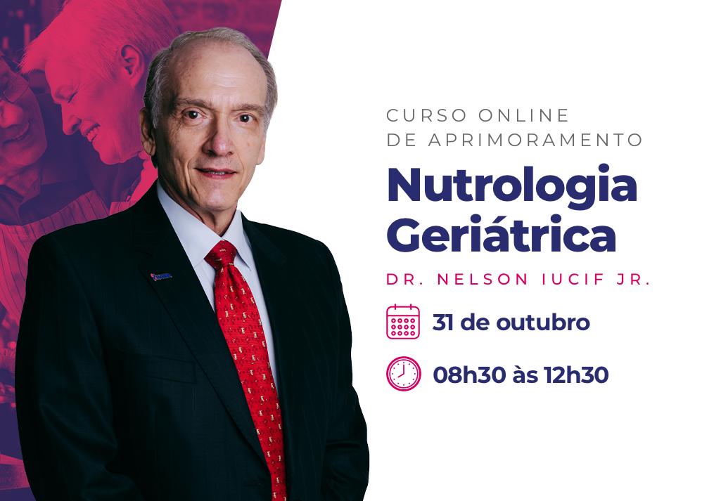 Curso Online de Aprimoramento | Nutrologia Geriátrica