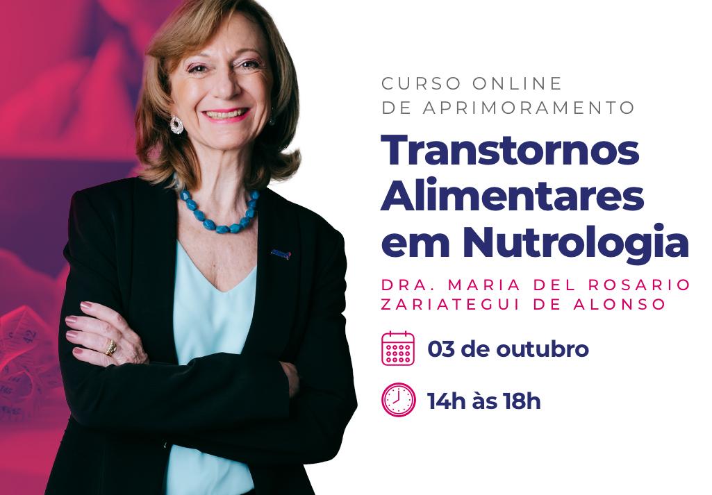 Curso Online de Aprimoramento | Transtornos Alimentares em Nutrologia