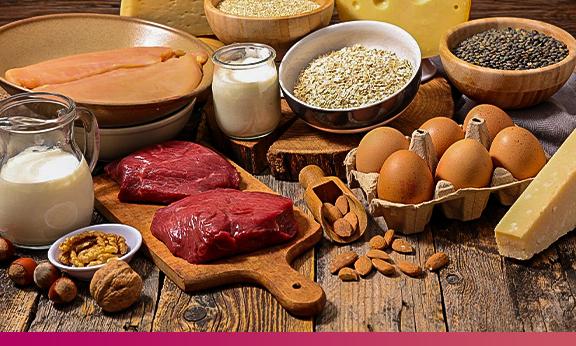 Ingestão de proteínas e exercícios de resistência