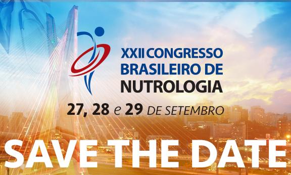 XXII Congresso Brasileiro De Nutrologia