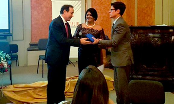 ABRAN recebe prêmio da ONU/ODS