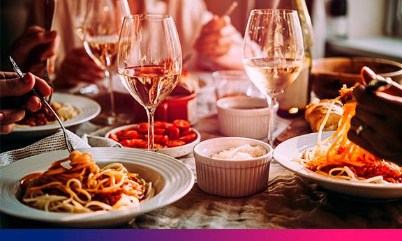 Fotografia digital é usada em estudo para examinar a hora do jantar da família