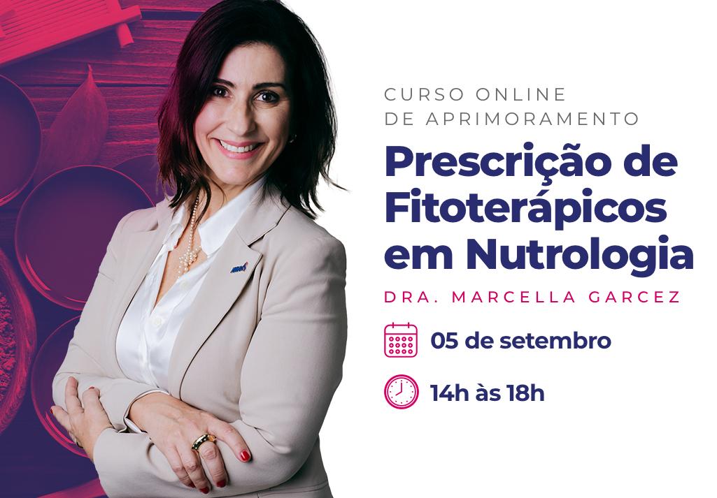 Curso Online de Aprimoramento | Prescrição de Fitoterápicos em Nutrologia
