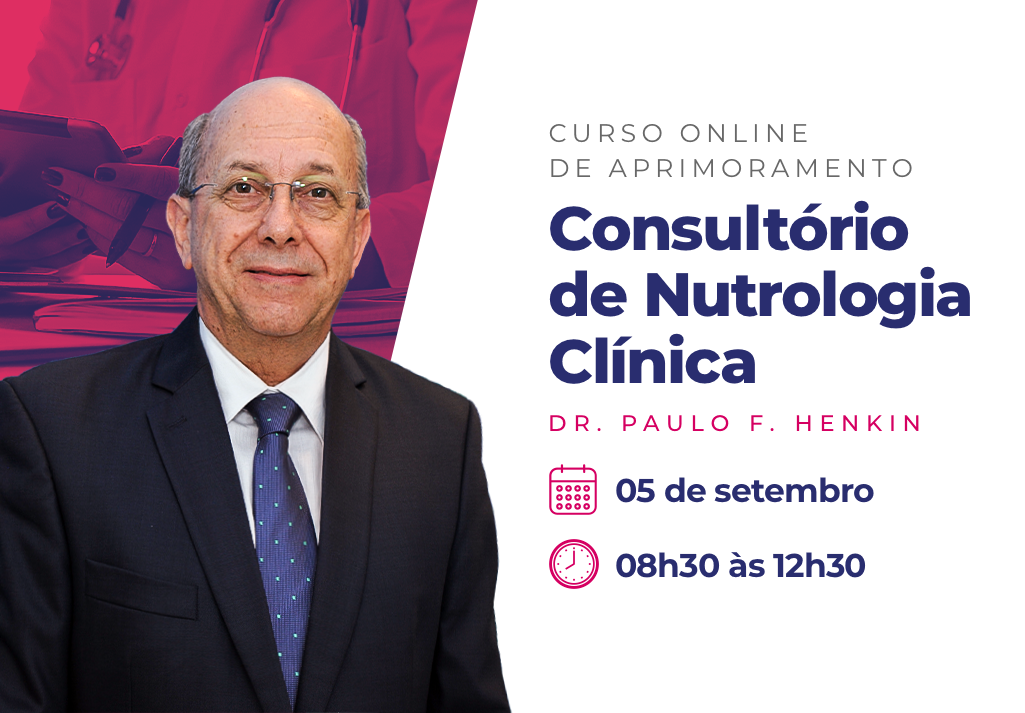 Curso Online de Aprimoramento | Consultório de Nutrologia Clínica