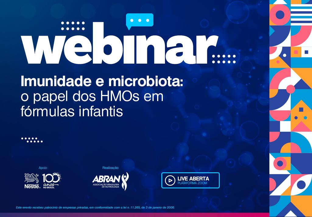 Webinar | Imunidade e Microbiota: o papel dos HMOs em fórmulas infantis