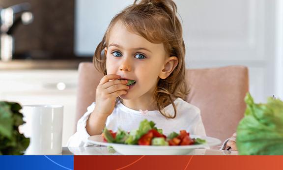 Impactos das dietas vegetarianas e veganas em crianças