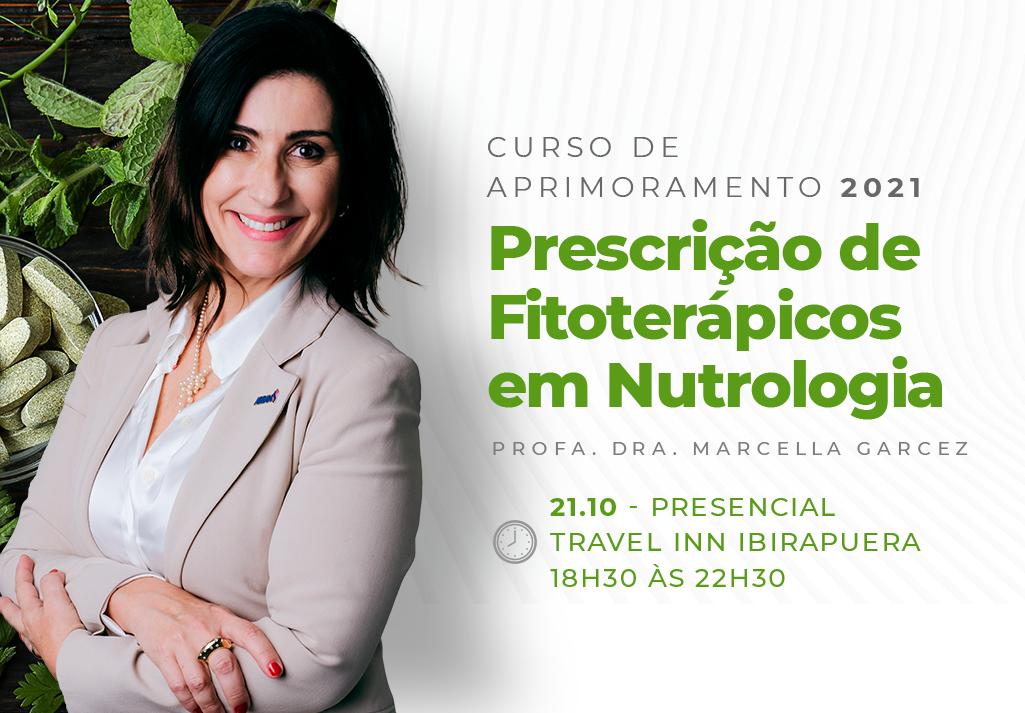 Curso de Aprimoramento 2021   Prescrição de Fitoterápicos em Nutrologia