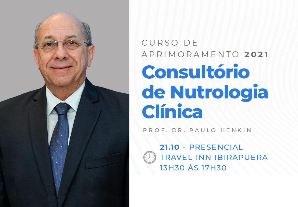 Curso de Aprimoramento 2021   Consultório de Nutrologia Clínica